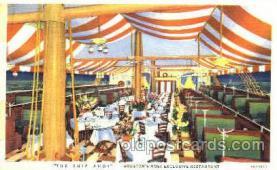 DNR001047 - The Ship Ahoy, Houston, Texas, USA Postcard Post Card