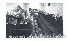 DNR001049 - McGuffins, Café, San Angelo, Texas, USA Postcard Post Card