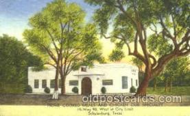 DNR001072 - Lakeside Café, Schulenburg, Texas, USA Postcard Post Card