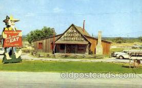 DNR001079 - New Braunfels Smokehouse, New Braunfels, Texas, USA Postcard Post Card