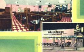 DNR001082 - White House Rest. Savannah, Ga. USA Postcard Post Card