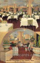 DNR001085 - Milam Cafeteria, San Antonio, Texas, TX USA Postcard Post Card