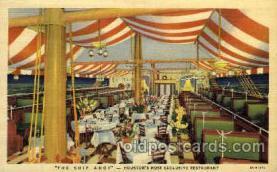 DNR001087 - The Ship Ahoy, Houston, Texas, USA Postcard Post Card
