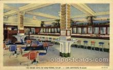 DNR001091 - The Bank Café, San Pedro, Calif. USA Postcard Post Card