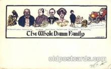 dam001003 - The Whole Dam, Damm, Family Postcard Post Card
