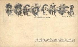 dam001007 - The Whole Dam, Damm, Family Postcard Post Card