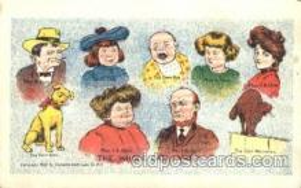 dam001008 - The Whole Dam, Damm, Family Postcard Post Card