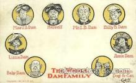 dam001009 - Dam Family Postcard Post Card