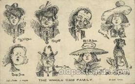 dam001011 - Dam Family Postcard Post Card