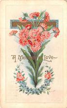 dam002081 - Valentines Day Post Card Old Vintage Antique Postcard