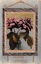 dam002099 - Valentines Day Post Card Old Vintage Antique Postcard