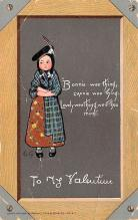 dam002131 - Valentines Day Post Card Old Vintage Antique Postcard