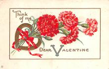 dam002145 - Valentines Day Post Card Old Vintage Antique Postcard