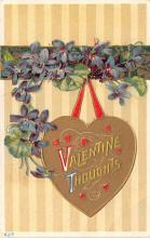 dam002201 - Valentines Day Post Card Old Vintage Antique Postcard