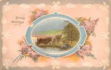 dam002205 - Valentines Day Post Card Old Vintage Antique Postcard