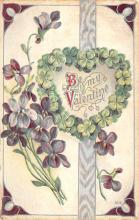 dam002211 - Valentines Day Post Card Old Vintage Antique Postcard