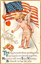 dam002257 - Valentines Day Post Card Old Vintage Antique Postcard