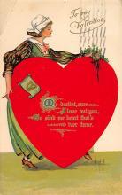 dam300011 - Damaged Valentines Day Postcard
