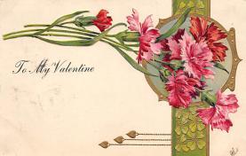 dam300021 - Damaged Valentines Day Postcard