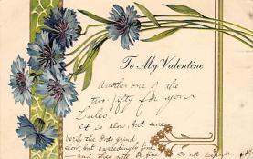 dam300023 - Damaged Valentines Day Postcard