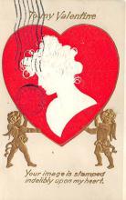 dam300025 - Damaged Valentines Day Postcard
