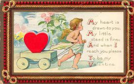 dam300039 - Damaged Valentines Day Postcard