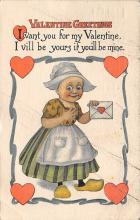 dam300045 - Damaged Valentines Day Postcard