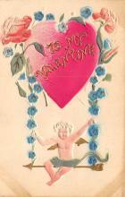 dam300053 - Damaged Valentines Day Postcard