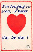 dam300055 - Damaged Valentines Day Postcard