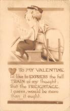 dam300073 - Damaged Valentines Day Postcard