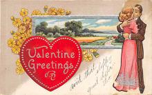 dam300075 - Damaged Valentines Day Postcard
