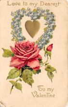 dam300089 - Damaged Valentines Day Postcard