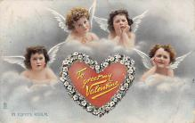 dam300119 - Damaged Valentines Day Postcard