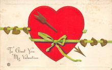 dam300139 - Damaged Valentines Day Postcard