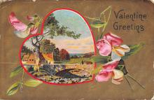 dam300159 - Damaged Valentines Day Postcard