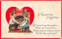 dam300165 - Damaged Valentines Day Postcard