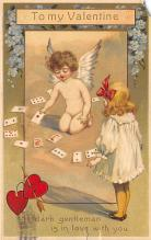 dam300169 - Damaged Valentines Day Postcard