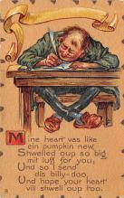 dam300189 - Damaged Valentines Day Postcard