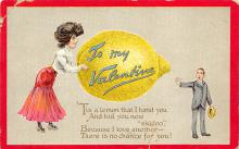 dam300193 - Damaged Valentines Day Postcard