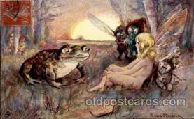 dan001012 - Fantasy Frog Postcard Artist Thomas Maybank