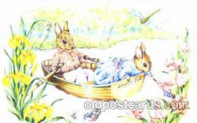 dan002001 - Artist Audrey Tarrant Dressed Animal Postcard Post Card