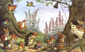 dan002010 - Artist Molly Brett Dressed Animal Postcard Post Card