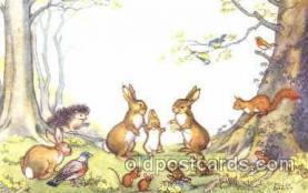 dan002011 - Artist Molly Brett Dressed Animal Postcard Post Card