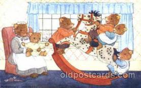 dan002017 - Artist Margaret Tempest Dressed Animal Postcard Post Card