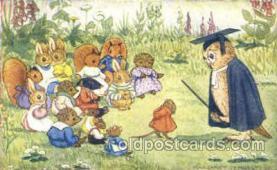 dan002018 - Artist Margaret Tempest Dressed Animal Postcard Post Card
