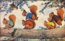 dan002020 - Artist Margaret Tempest Dressed Animal Postcard Post Card