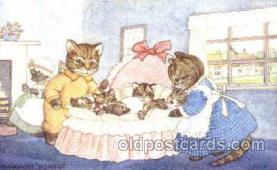 dan002021 - Artist Margaret Tempest Dressed Animal Postcard Post Card