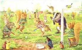 dan002028 - Artist Racey Helps, Dressed Animal Postcard Post Card