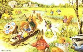 dan002031 - Artist Racey Helps, Dressed Animal Postcard Post Card
