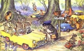 dan002039 - Artist Molly Brett Dressed Animal Postcard Post Card
